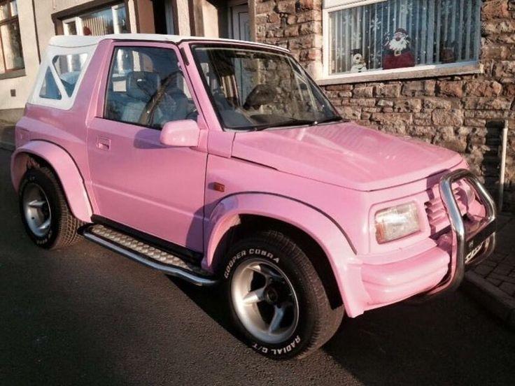 Suzuki Vitara Fat Boy Baby Pink Wide Boy On Gumtree Here