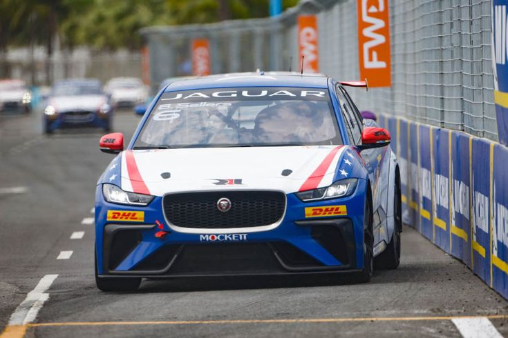 What's it like to race a Jaguar I-Pace electric car?