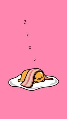 Bacon And Eggs Sleeping iPhone 6 Wallpaper