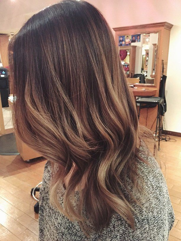 Balayage highlights with black hair the best black hair 2017 best 25 balayage dark hair ideas on pmusecretfo Image collections