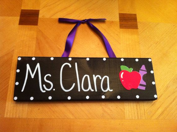Hey, I found this really awesome Etsy listing at https://www.etsy.com/listing/168193357/teachers-name-desk-sign-classroom-name