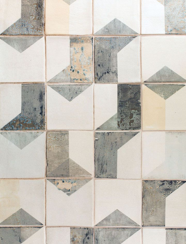 'After Lowry' hand-painted tiles by Smink Things                                                                                                                                                                                 More