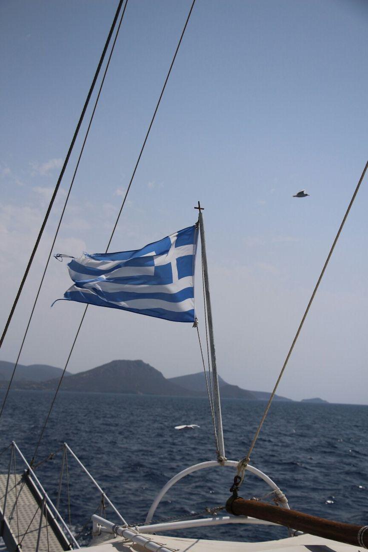 Greece - vlajka Lumír Krásný photography