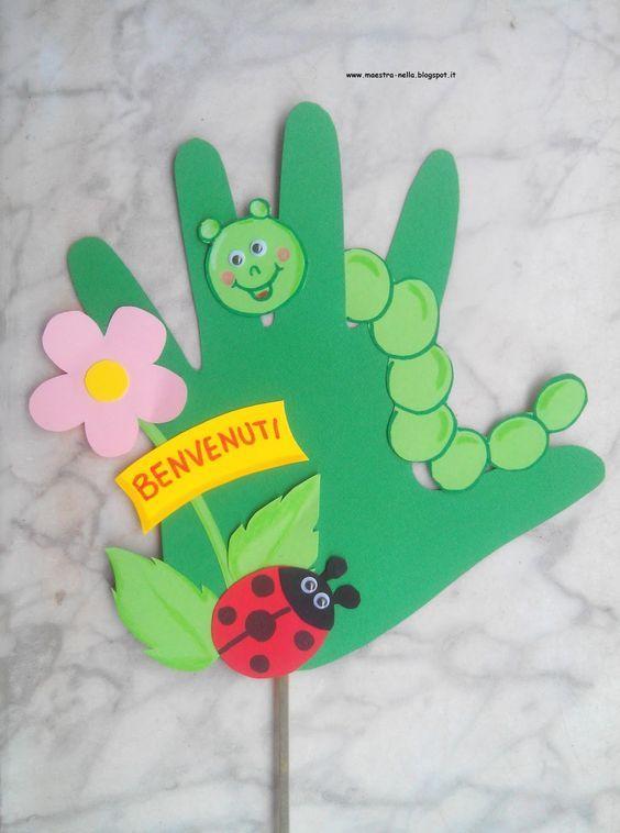 Flower hand: