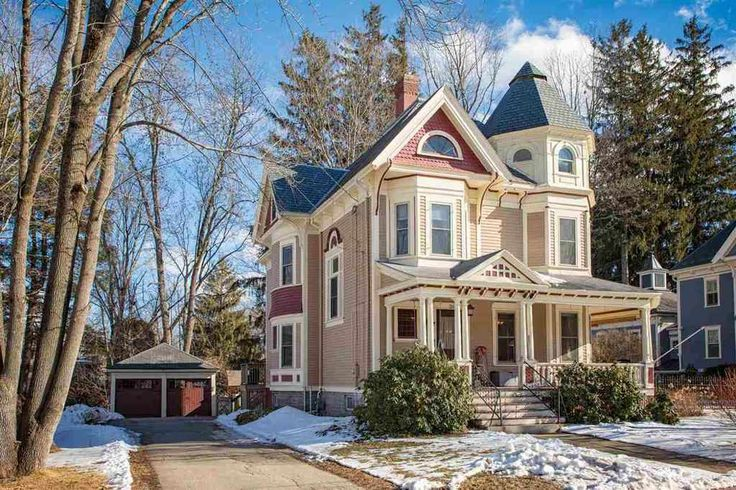 c. 1900 Queen Anne - Dover, NH - $539,900 - Old House Dreams