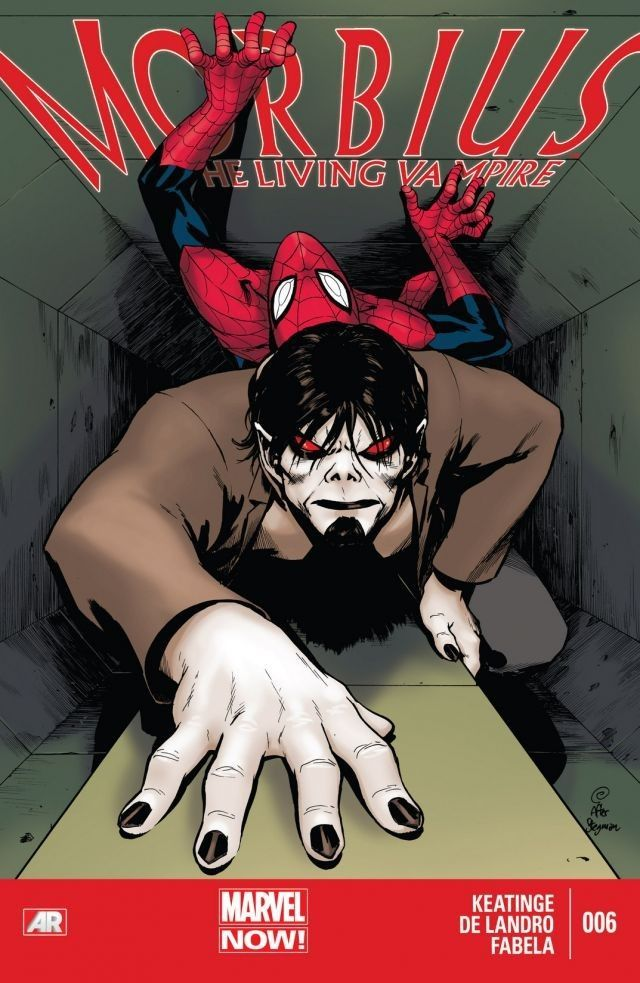 MORBIUS VS. SUPERIOR SPIDER-MAN!  Morbius has laid low long enough. After the Battle of Brownsville, he escapes to Manhattan, to Horizon Labs, to finally cure his vampirism. But he's not aware Horizon's not the same as it once was -- it's different, it's better, it's SUPERIOR.