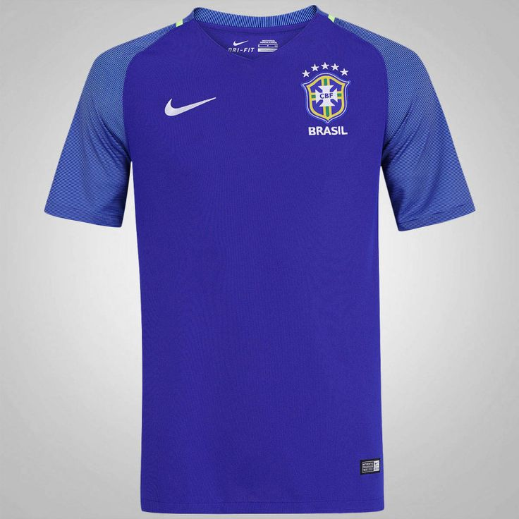 Camisa do Brasil II 2016 Nike - Masculina