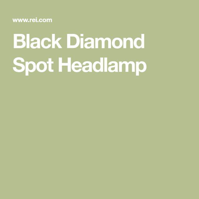 Black Diamond Spot Headlamp