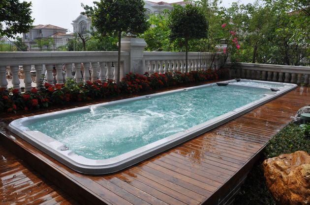 1000 images about swim spa deck ideas on pinterest. Black Bedroom Furniture Sets. Home Design Ideas