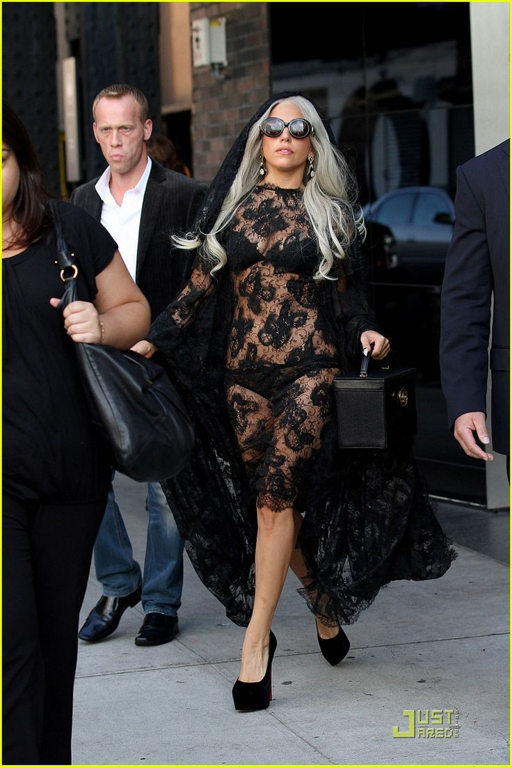 black, lace, gaga, - Love, your little monsters