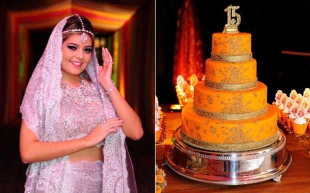 A Bianca Kosaki, de Araçatuba, interior de São Paulo, decidiu comemorar seus 15 anos com uma festa cheia de cor, inspirada na cultura indiana. Até o vestido tradicional de baile foi substituído por um sári – traje tradicional das mulheres indianas.