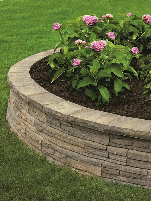 Best 20 stone wall gardens ideas on pinterest nichols for Curved garden wall designs