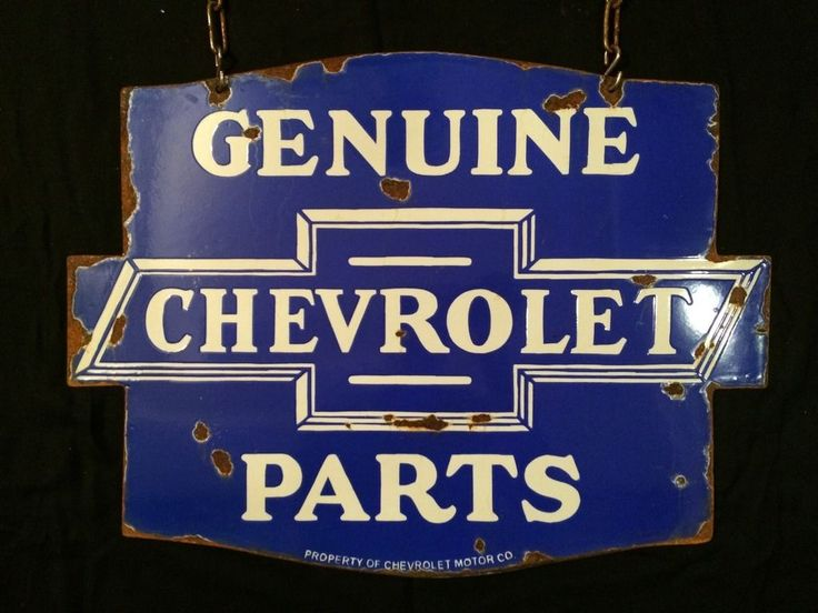 A reproduction porcelain enamel chevrolet parts sign being passed a reproduction porcelain enamel chevrolet parts sign being passed off as original from india for the handsome price of 2000 us i reported this si sciox Choice Image