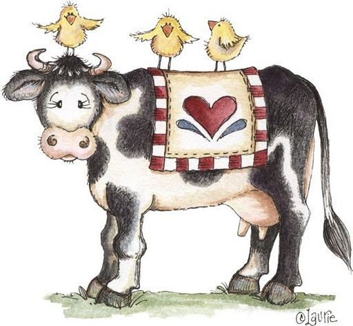 73 best images about Clipart - Cows on Pinterest | Cows ...
