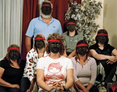 Image from http://www.creativespirits.info/aboriginalculture/people/images/identity-blackface-(Bindi-Cole).jpg.