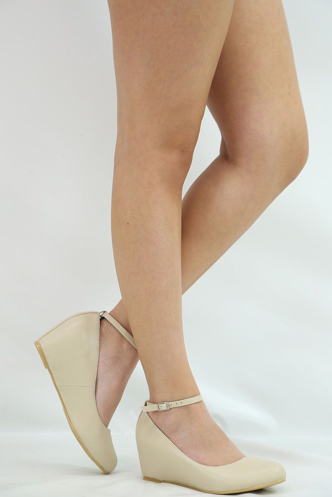 1000  ideas about Low Wedge Shoes on Pinterest | Nude wedges ...
