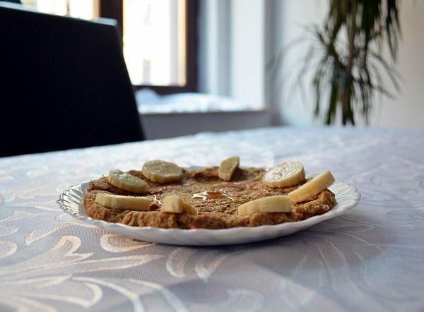 bananowe ciastko owsiane