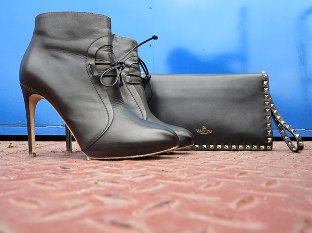 Labels: 3.1 Philip Lim sweaty, DIY tulle skirt, Rupert Sanderson boots, Valentino bag