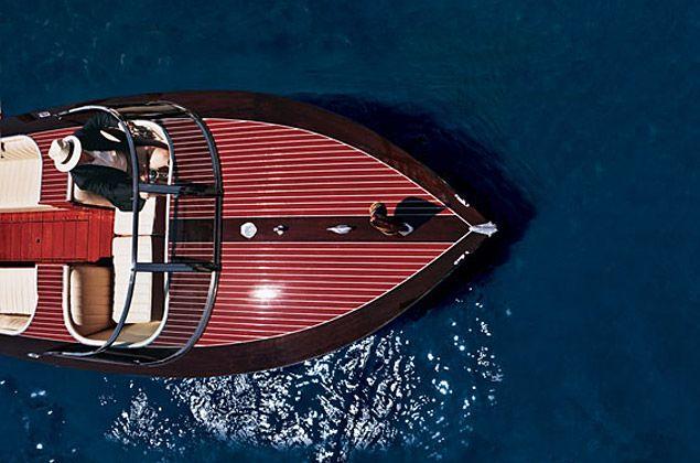 Hacker Craft Neiman Marcus Edition Speedboat. The gentleman's watercraft.