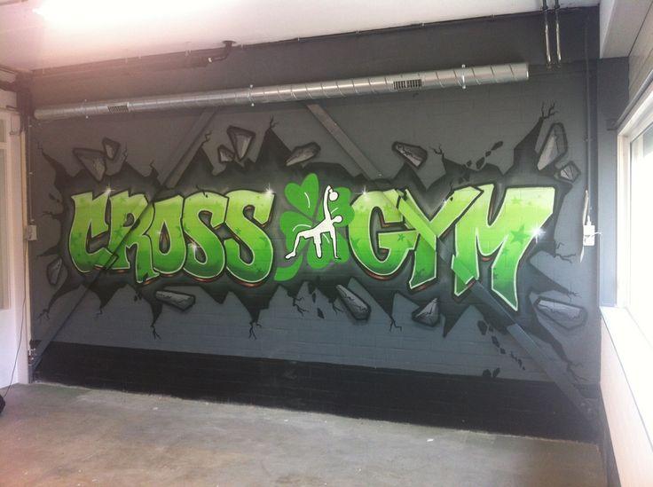 Muurschilderingen en logo's bij bedrijven |