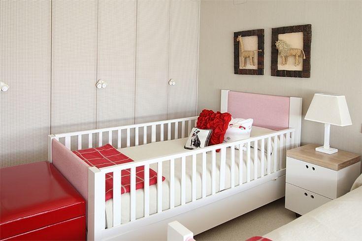 Rojo para un dormitorio compartido 1
