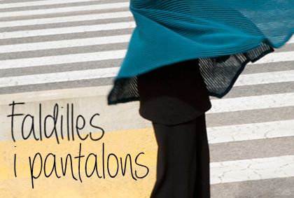 Imagen para la sección de Faldas y pantalones de la web Instintobcn.com