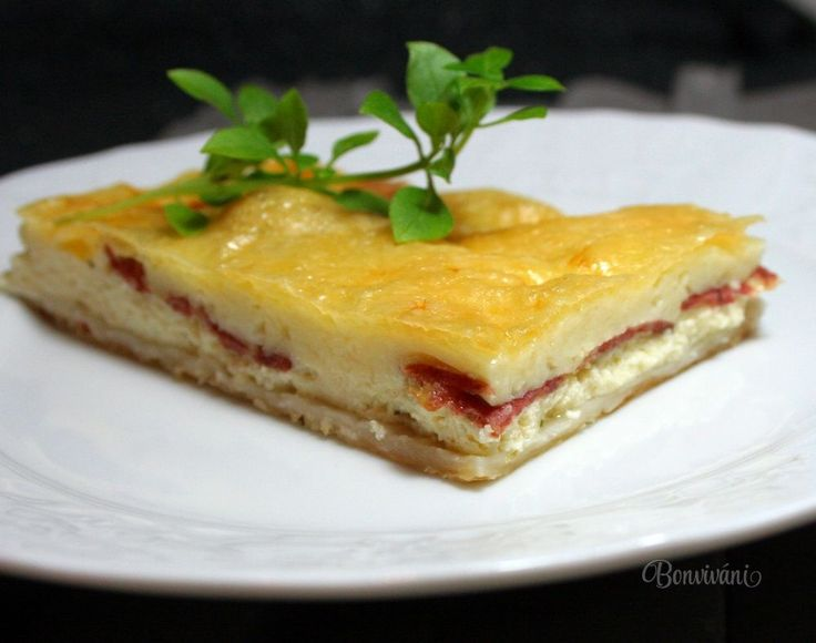 Slaný jogurtový koláč • bonvivani.sk