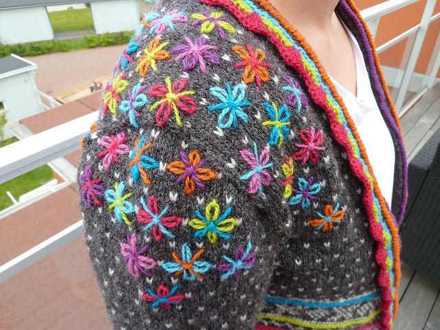 colourful stitchin'...