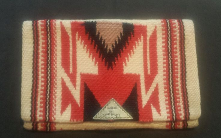 Vintage Native American  CHIMAYO Hand Woven Purse