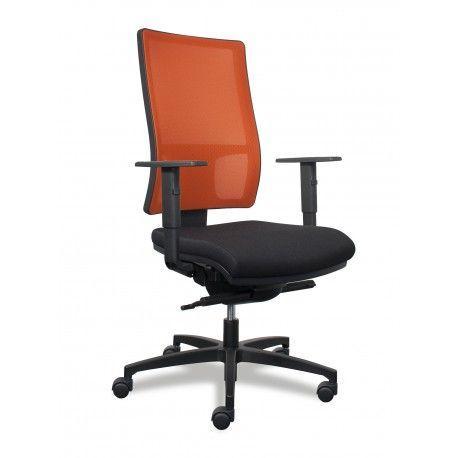 Mesh Line Sitland fauteuil de bureau dossier filet orange - Siège de travail ergonomique