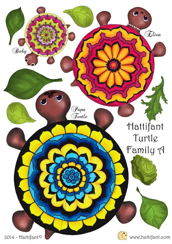 Hattifant`s hungry Turtle Family » Hattifant