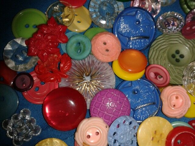 My button collection (well some of them) :-)