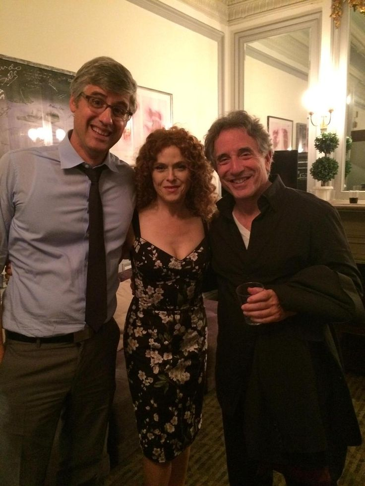 Post-Into The Woods Bway cast reunion with the incomparable Bernadette Peters (@OfficialBPeters) and Chip Zien!