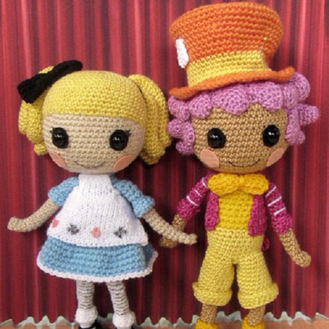 Mad Hatter Amigurumi : Alice and the Mad Hatter Crocheting/Amigurumi ...