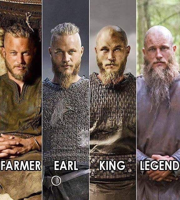 Just watched this show .Ragnar Lothbrok is the one of the most badass character I have ever seen in a TV series. Travis Fimmel really did his job for this role.
