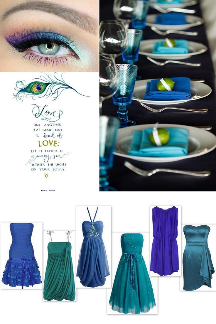 A Peacock Wedding   Ideas, Inspiration And Pictures! | Yes Baby Daily