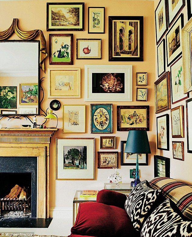 78 best * art wall images on Pinterest   Gallery walls, Art walls ...