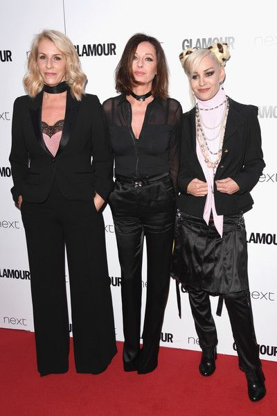 (L-R) Sara Dallin, Keren Woodward and Siobhan Fahey of Bananarama attend the Glamour Women of The Year awards 2017 at Berkeley Square Gardens on June 6, 2017 in London, England.