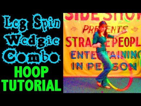 Leg Spin Wedgie Combo with Beth Piver - hooping.org