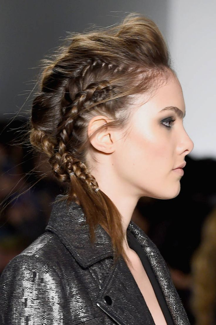 best 25+ braided mohawk hairstyles ideas on pinterest | cornrow