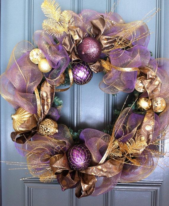 1000 ideas about purple wreath on pinterest white wreath wreaths and summer wreath. Black Bedroom Furniture Sets. Home Design Ideas
