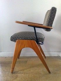 Fler Furniture Reupholstery. Love this mid century look!
