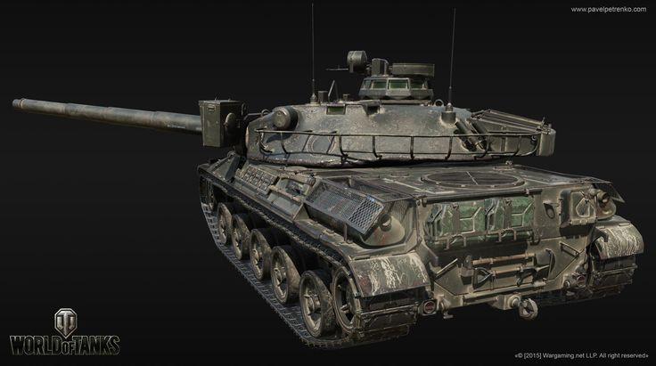 AMX-30, Pavel  Petrenko on ArtStation at https://www.artstation.com/artwork/amx-30-4eb4ab25-930a-487f-be1c-86fe5658b249