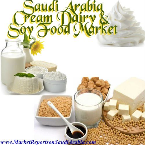Cream #Dairy & #SoyFood Market in #SaudiArabia