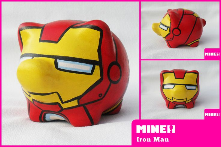 ALCANCIA IRON MAN