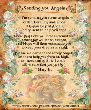 SENDING YOU ANGELS Angel Blessings - Poems - Prayers - Vintage style images - Page 2