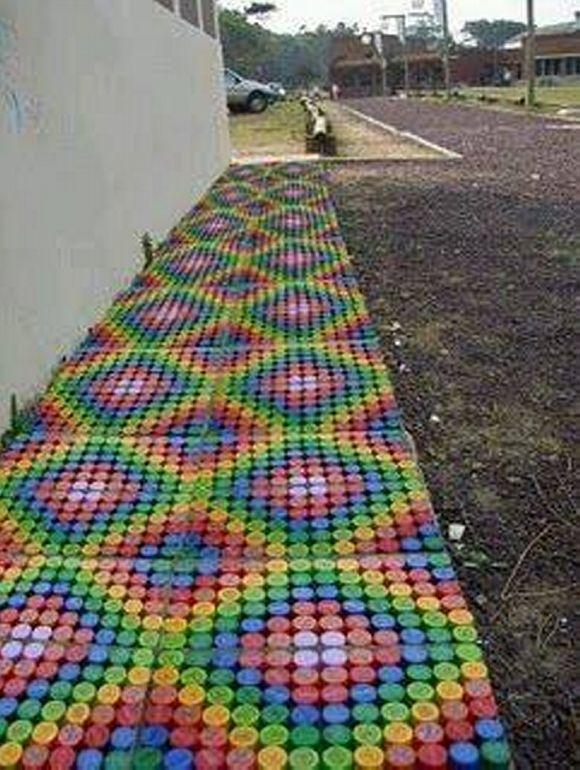 72 best plastic bottle caps diy crafts art images on pinterest bottle caps bottle cap art and - Can you recycle bottle caps ...