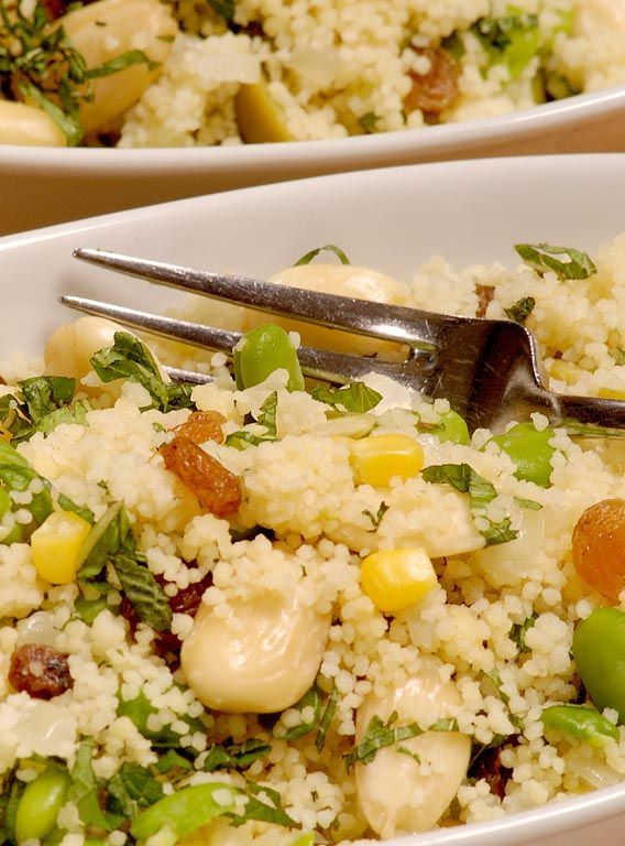 Couscous - Paul Heathcote. This fresh and healthy cous cous recipe goes brilliantly with any number of main course meals--marinated lamb, grilled chicken breast, falafel wraps and roasted vegetables are just some of the pairings this cous cous would shine with