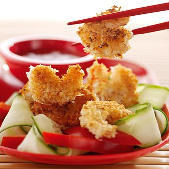 Crispy coconut tiger prawns recipe | Mains | Recipes | Co-operative Food