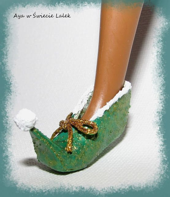 Aya w Świecie Lalek: Elfie buty...